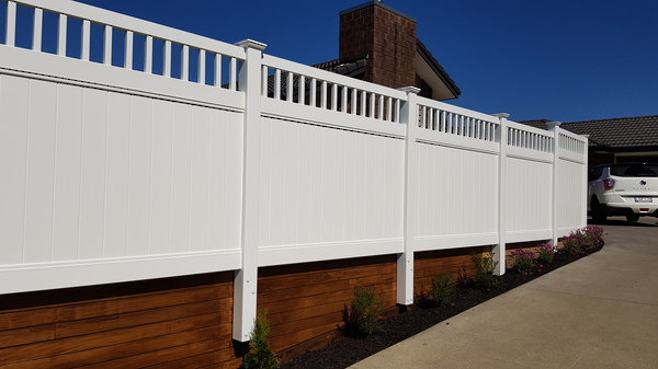 PVC Privacy Fencing